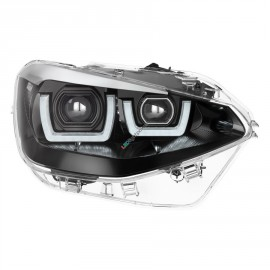 LED Hauptscheinwerfer Set OSRAM Black Edition für BMW 1er