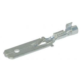 Flachsteckzunge bis 1.5mm2 mit Wiederhaken