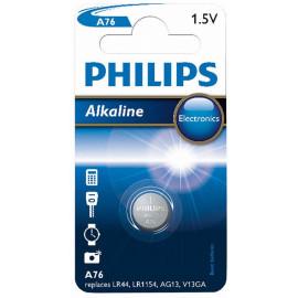 Philips Knopfzellen-Batterie A76 (LR44)