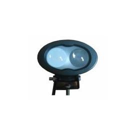 LED Fahrwegbeleuchtungsscheinwerfer oval blau, spot