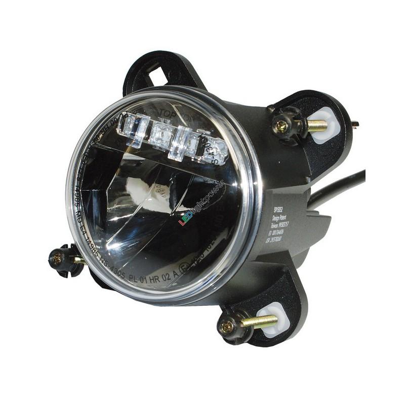 led fernlichtscheinwerfer 90mm mit positionslicht duo lux high beam head light. Black Bedroom Furniture Sets. Home Design Ideas