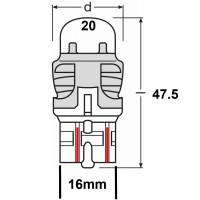 W3x16q (W21/5W)