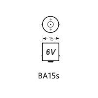 BA15S 6V LED