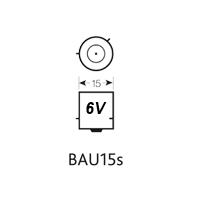 BAU15S 6V LED