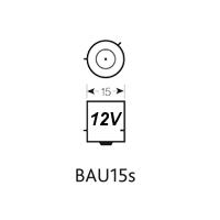BAU15S 12V LED