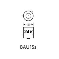 BAU15S 24V LED