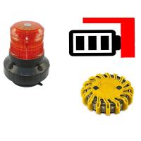 LED Blitzleuchten mobil mit Batterie
