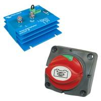 Batterieschutz und Trennschalter