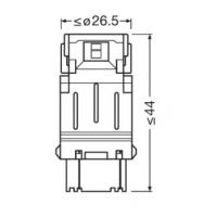 W2.5x16q (P27/7W)