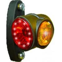 LED Positionsleuchten rot-weiss-gelb