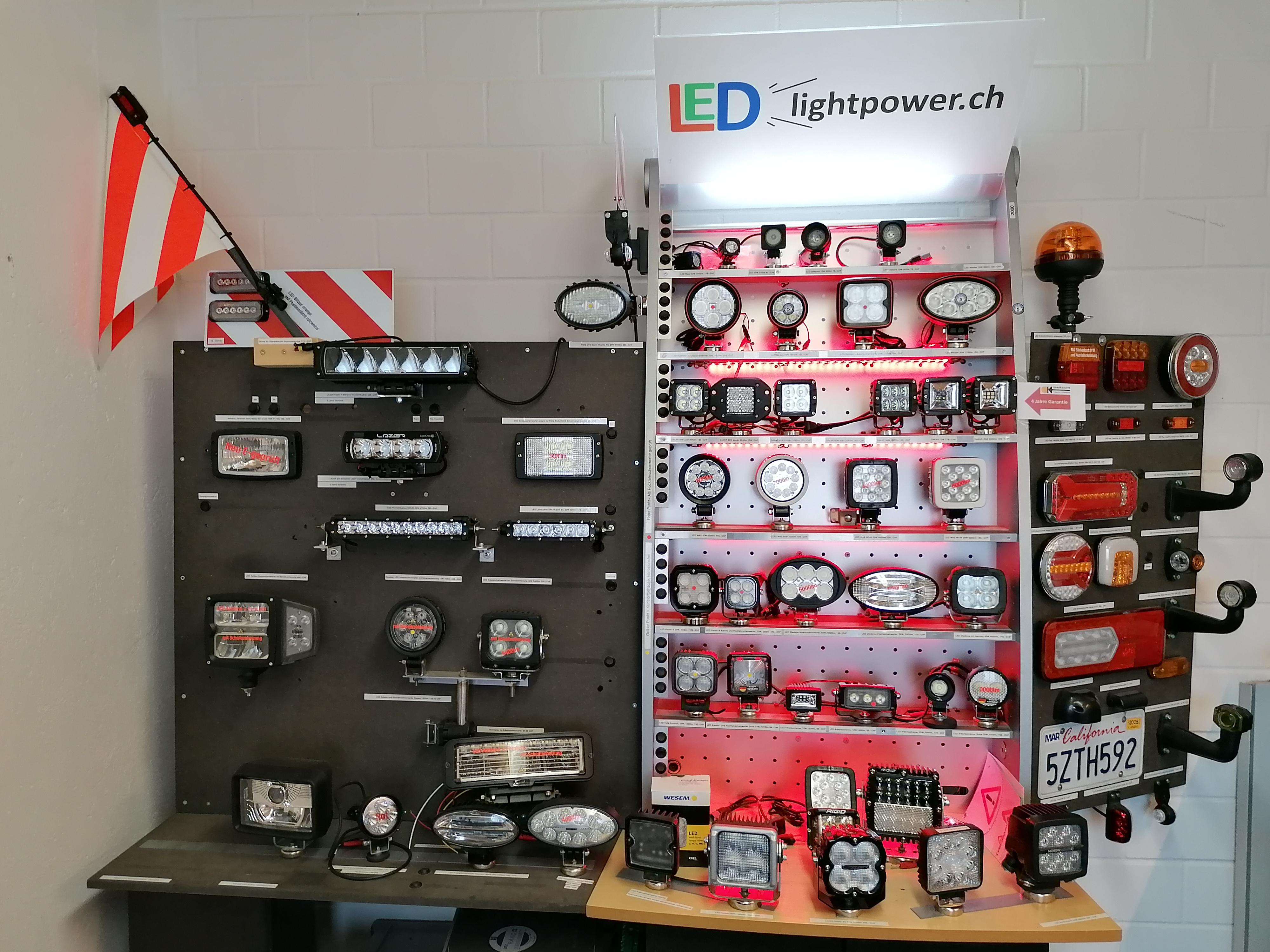 Showroom LED Fahrzeugbeleuchtung